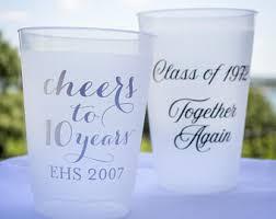 favors for class reunions high school reunion etsy
