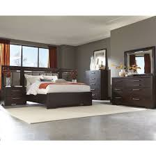 Coaster Furniture Bedroom Sets by Coaster Berkshire Panel Bedroom Set With Led Touch Lighting In