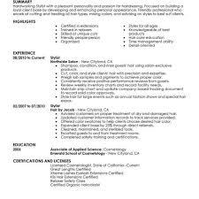 100 stylist resume sas consultant cover letter dialectical essay
