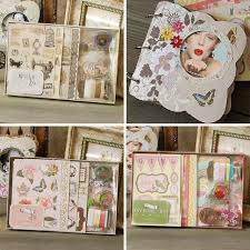binder photo album diy photo album vintage chipboard album kit 3 ring binder