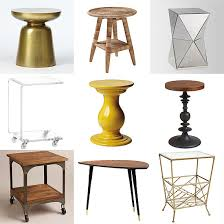 Side Accent Tables | lovable side accent table round mirror accent table eclectic side