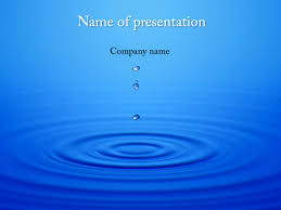 Water Powerpoint Templates by Free Water Motion Powerpoint Template For Presentation