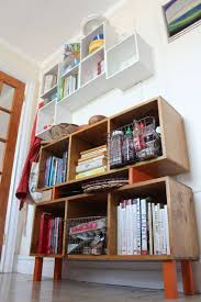 a diy home for my cookbooks