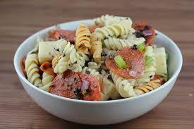 Pasta Salad Recipes With Italian Dressing Italian Pasta Salad Recipe Free Delicious Italian Recipes