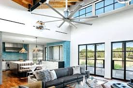 ceiling fan size for large room ceiling fans great room slfencing club