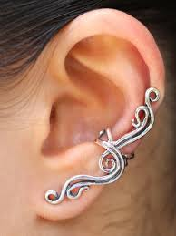 ear cuff jewelry twist ear cuff jewelry