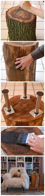 how to make tables from slices of tree i had read that the wood