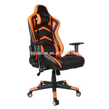 stock leather and fabric professional pc gaming chair car seat