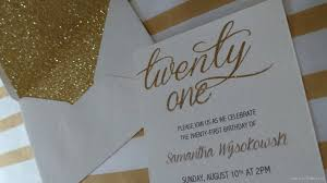 twenty first birthday invitations