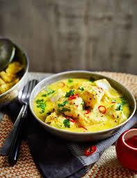 cuisine curry coconut fish curry sainsbury s magazine