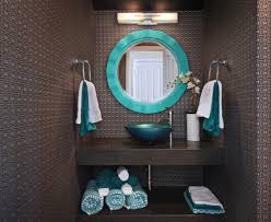 Powder Room Towels Bathroom Decorating Ideas That Add Pizazz To Your Powder Room