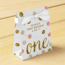 Birthday Favor Boxes by 1st Birthday Favor Boxes Zazzle