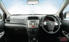 New Avanza Interior Toyota Avanza Pakistan