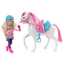barbie chelsea doll u0026 pony playset dolls barbie doll