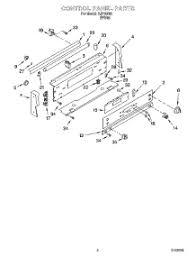 Whirlpool Ceran Cooktop Parts For Whirlpool Gjp85802 Range Appliancepartspros Com