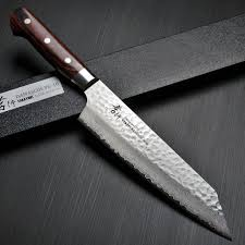 Japanese Folded Steel Kitchen Knives - chefslocker japanese chefs knives knives