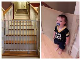 Best Stair Gate For Banisters Jax Proofing Our Abode Baby Proofing Tips And Tricks Jax In The Box