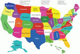 Map Of Usa Printable by The 50 States Map Map Of Usa