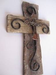 rustic crosses weathered wood cross with paw print fabric by santosandcrosses