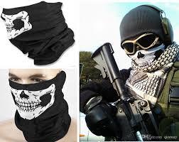 multi function skull face mask outdoor sports ski bike motorcycle