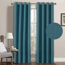 teal blue curtains bedrooms casual curtains for bedroom amazon com