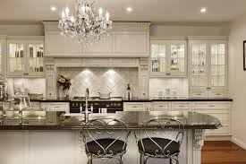 delightful modern country kitchen white granite countertop dark