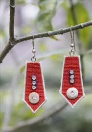 jute earrings buy online jute earrings 526950