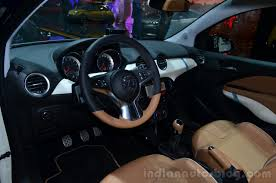 opel adam rocks opel adam rocks dashboard geneva live indian autos blog