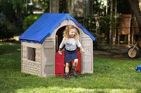 the wonderfold keter easy to fold childrens folding playhouse for