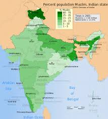 united states of islam map 2016 islam in india