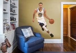 life size stephen curry fathead wall decal shop golden state stephen curry fathead wall decal