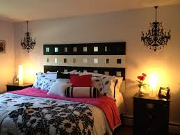 pink and black bedroom furniture white bedding themed party ideas