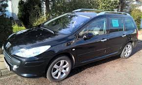 black peugeot for sale for sale black peugeot 307 sw se semi automatic estate tiptronic