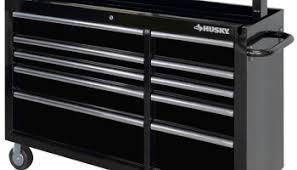 husky 66 in w 24 in d 12 drawer heavy duty mobile workbench new husky 60 inch 10 drawer mega mobile workbench