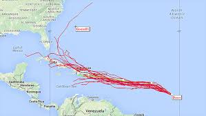 Mexico Hurricane Map by Danny Becomes First Atlantic Hurricane Of 2015