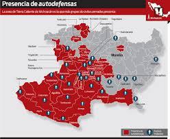 Map Of Michoacan Mexico by Michoacan U0027s U0027new Cartel U0027 Bolsters Vigilante Criminalization Fears