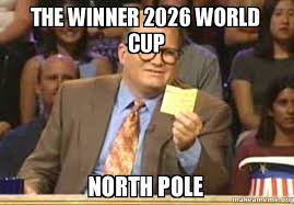 Meme From Drew Carey Show - the winner 2026 world cup north pole make a meme