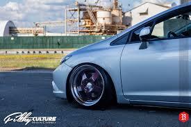 klutch wheels sl5 honda civic si stanced