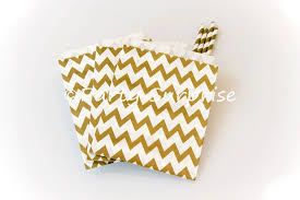 gold favor bags gold favor bags gold chevron paper treat bags 5x7
