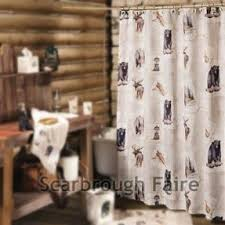 Rustic Shower Curtains Lodge Rustic Shower Curtain Foter