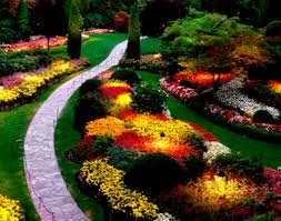 Flower Garden Ideas Pictures Garden Architectures Traditional Landscape Design Withwer Front