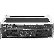 Audio Rack Case Marathon Ma 3uad Flight Road 3u Deluxe Amplifier Rack Ma 3uad