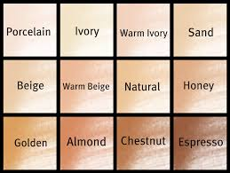 Argan Oil Hair Color Chart How To Choose Foundation Shade Indian Makeup Blog