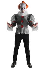 costumes scary it deluxe pennywise costume purecostumes