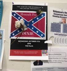 Different Confederate Flags Confederate Flag Fliers Found Hanging In Four American University
