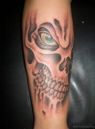 Forearm Skull - 83 fancy skull tattoos for arm