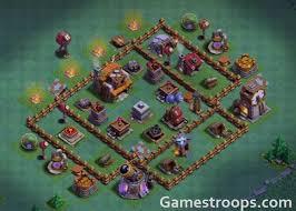 coc village layout level 5 top 16 builder hall 5 base design bh5 base 2018 bh5 base layout