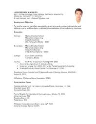 resume sle for call center agent without experience agent sle resumes resume template paasprovider com