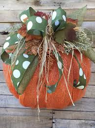 Halloween Wreath Supplies by Fall Wreath Fall Door Wreath Fall Pumpkin Door Wreath Fall