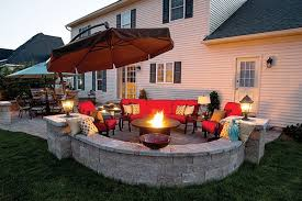 fire pit with seating best outdoor fire pit seating ideas home decoratings and diy